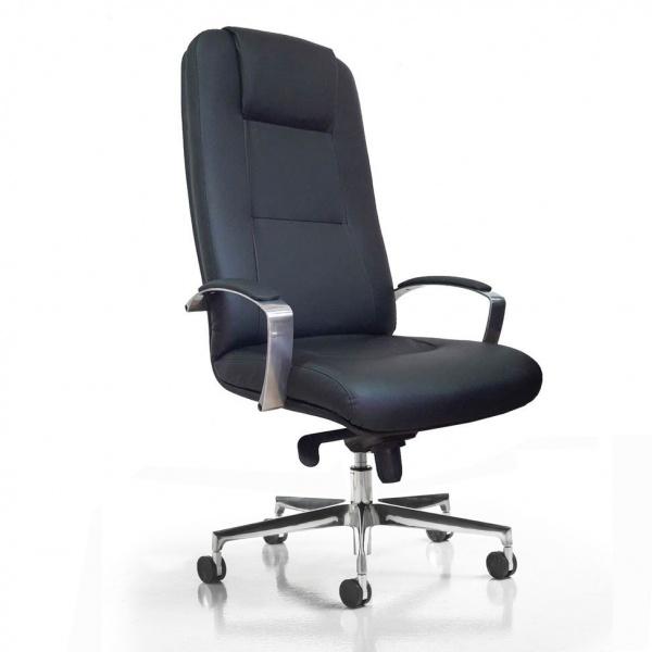Radna fotelja B-372B-LUX-TM2YBR18B2GT1 kožna