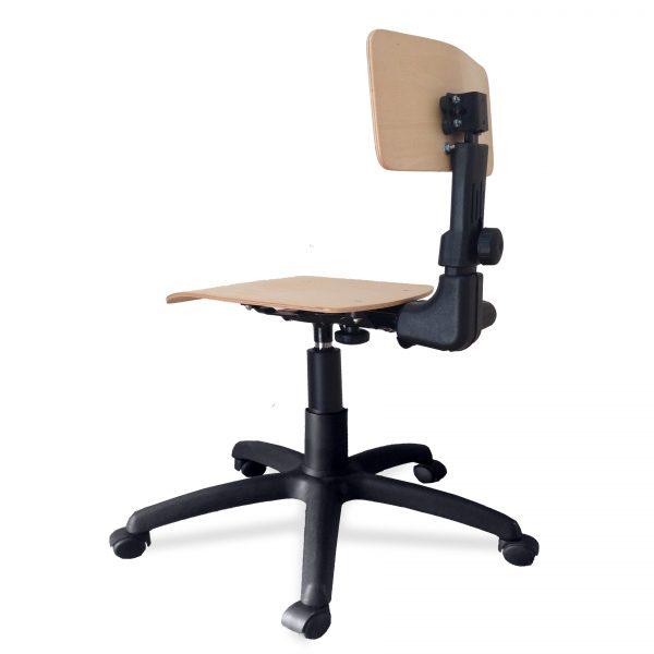 Laboratorijska (industrijska) stolica B-630 SCPXBR5L1T1