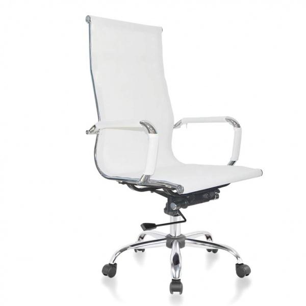 Slim kancelarijska fotelja B300 BELA